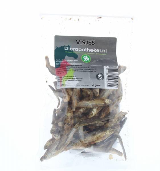 Gedroogde Visjes Dierapotheker.nl 50 gram