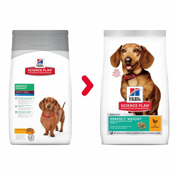 Hill's Science Plan Canine Adult Perfect Weight Small&Mini