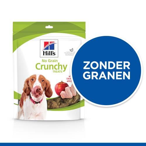 Hill's No Grain Crunchy Hondensnacks Kip & Appels 227 gram
