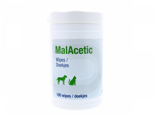 MalAcetic Reinigende Doekjes Hond Kat 100 stuks