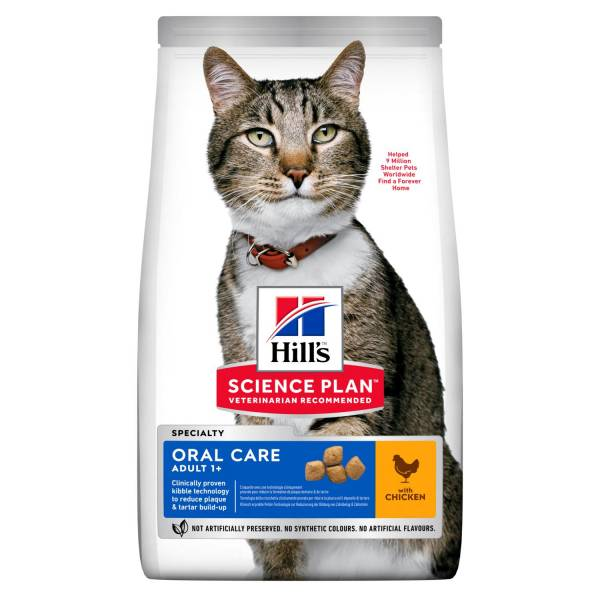 Hill's Science Plan Oral Care Adult Kattenvoer Kip