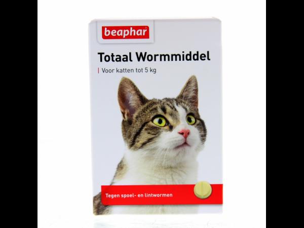 Beaphar Totaal Wormmiddel Kat 10 tabletten
