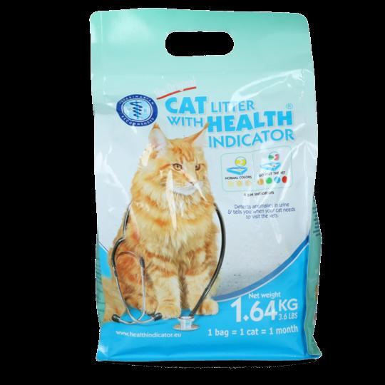 Cat Litter Kattenbakvulling met Gezondheidsindicator 1.64 kg