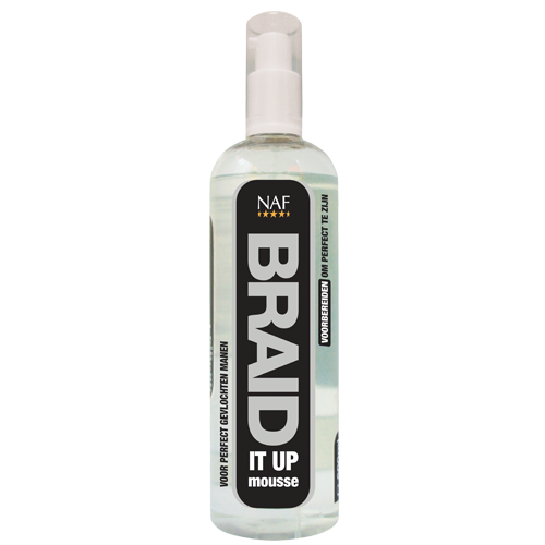 NAF Braid It Up Mousse Paard 500 ml