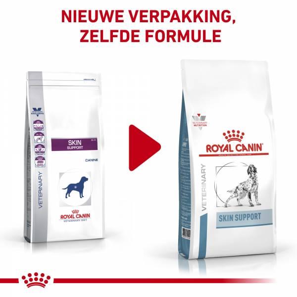 Royal Canin Skin Support - Dieetvoeding volwassen hond met huidaandoening of overmatige haaruitval