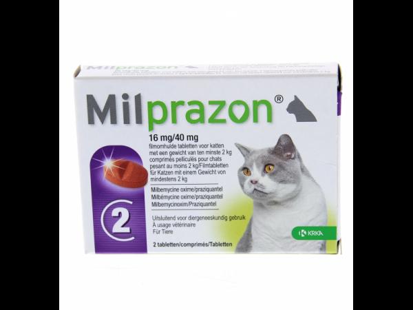 Milprazon Ontwormingstablet Grote Kat