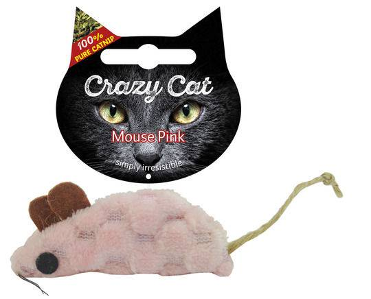 Crazy Cat Mouse Roze Vol Met Madnip