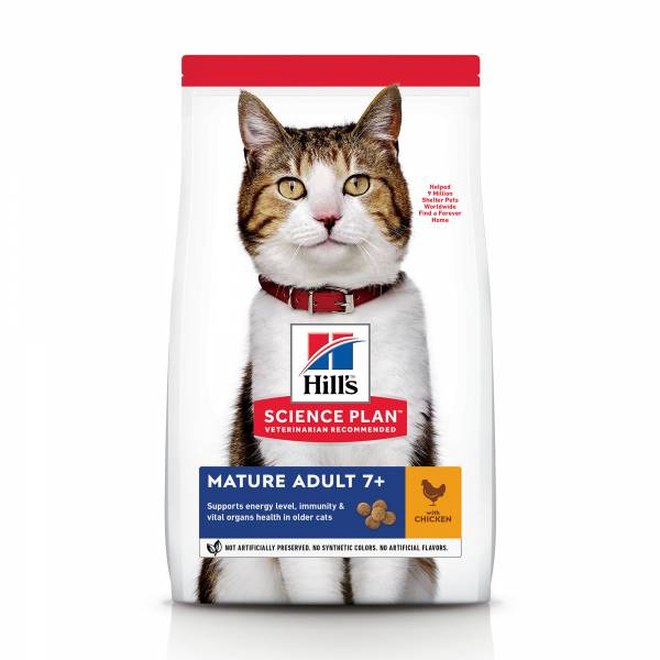 Hill's Science Plan Feline Mature Adult Chicken