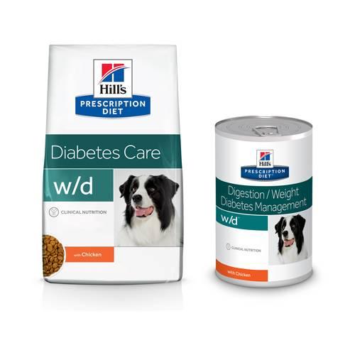 Hill's Prescription Diet WD Digestive/Weight/Diabetes Management Hondenvoer Kip