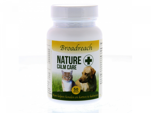 Broadreach Nature+ Calm Care Hond Kat Kalmering 50 capsules