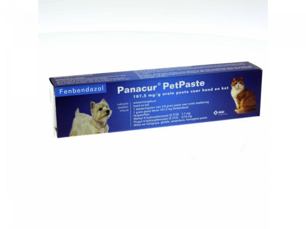Panacur KH Petpaste Ontwormpasta Hond Kat 4,8 g 1 stuk