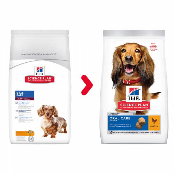 Hill's Science Plan Canine Adult Oral Care Chicken