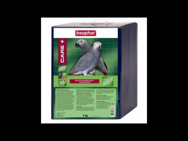 Care+ Beaphar Grijze Roodstaart e.a. Afrikaanse Papegaaien 5 kg