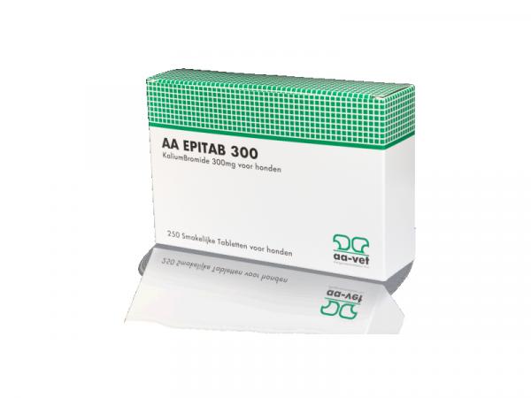 AA Epitab 300 Epilepsie 250 smakelijke tabletten