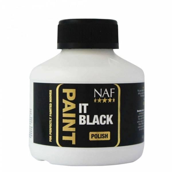 NAF Paint It Black Hoeflak Zwart Paard 250 ml