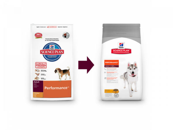 Hill's Science Plan Canine Adult Performance Chicken 12 kg