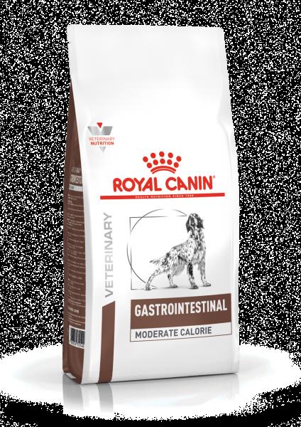 Royal Canin Gastro Intestinal Moderate Calorie - Dieetvoeding spijsvertering+gewicht volwassen hond
