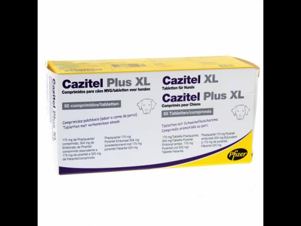 Cazitel Plus XL 8 tabletten