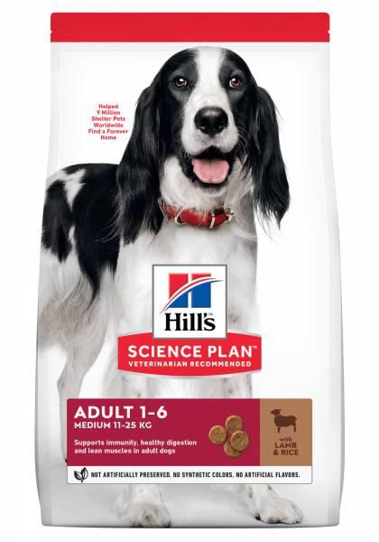 Hill's Science Plan Medium Adult Hondenvoer Lam & Rijst