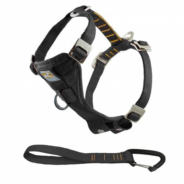 Tru-Fit Smart Harness Enhanced Strength Kurgo Hondentuig Zwart