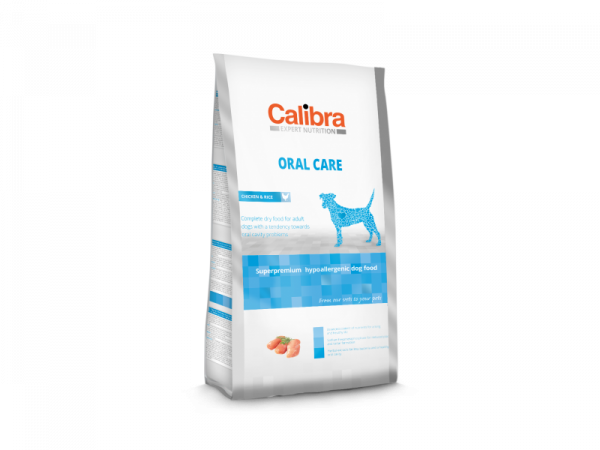 Calibra Dog Expert Nutrition Oral Care Chicken & Rice