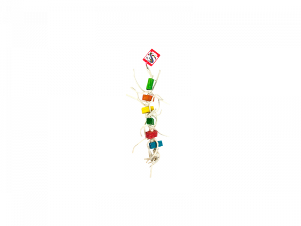 Birdeeez Millipede Parrot Toy 420 mm