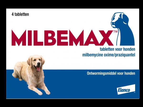 Milbemax Grote Hond Ontwormingstabletten