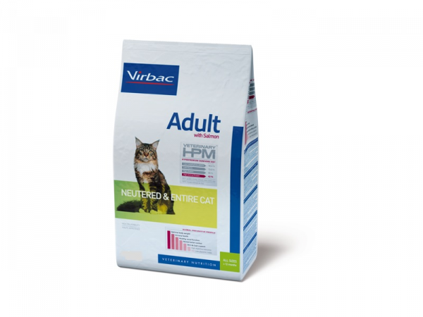 HPM Veterinary Adult Neutered Entire Cat Salmon