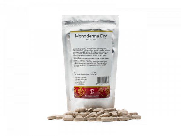 Sensipharm Monoderma Dry Hond 90 tabletten
