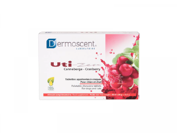 Dermoscent Uti-Zen Cranberry tabletten 30 stuks