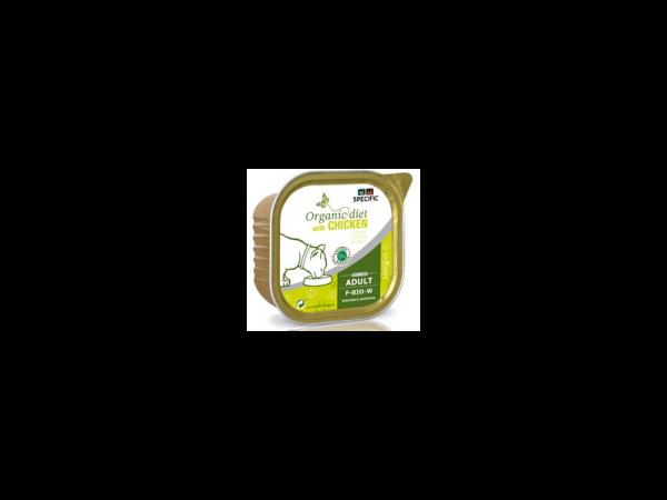 Specific Biologisch F-BIO-W Organic Chicken Kat 6 x 7 x 100 gram