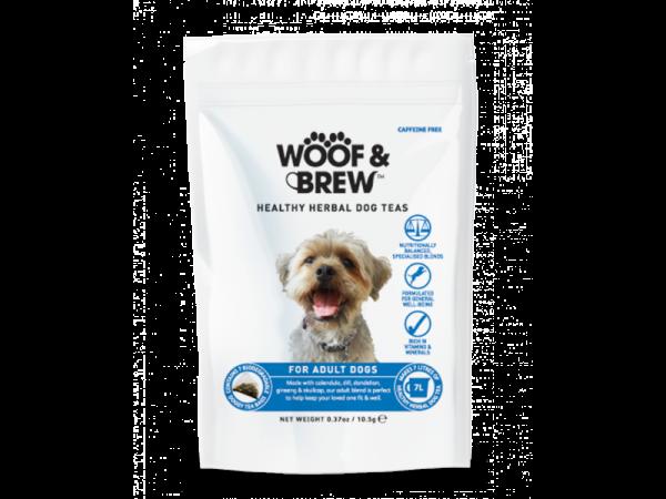 Woof & Brew Hondenthee Adult 6 x 28 theezakjes