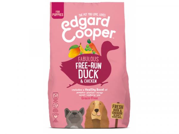 Edgard & Cooper Puppyvoer Verse Scharreleend en Scharrelkip