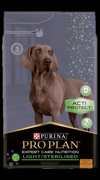 Purina Pro Plan Expert Care Dog Light Sterilised Hondenvoer Chicken