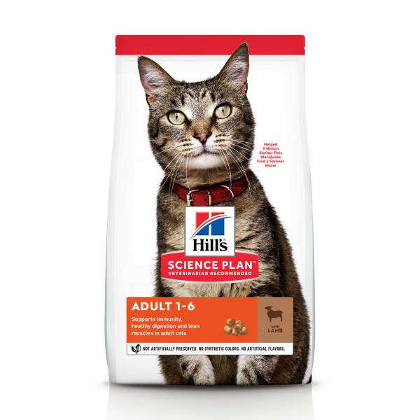 Hill's Science Plan Adult Kattenvoer Lam