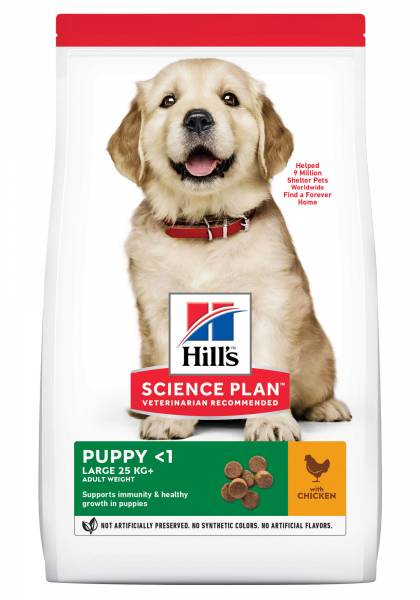 Hill's Science Plan Large Breed Puppyvoer Kip