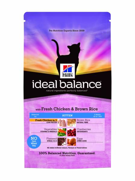 Hill's Ideal Balance No Grain Feline Kitten Chicken & Potatoes 1.5 kg