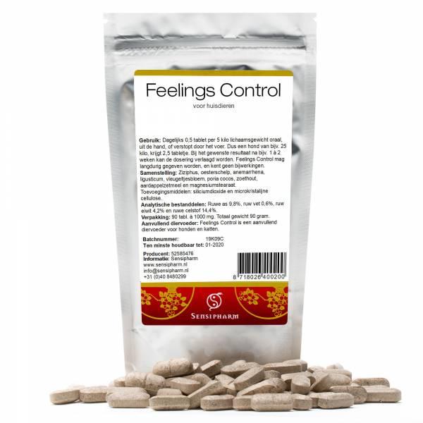 Sensipharm Feelings Control Huisdieren 90 tabletten