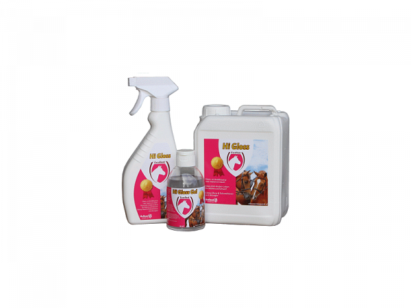 Hi Gloss Glans Gel Paard en Pony 250 ml gelpot