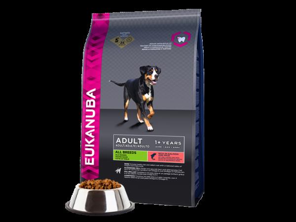 Eukanuba Dog Adult Zalm Rijst 12 kg