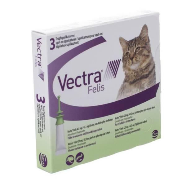 Vectra Felis Kat 3 pipetten