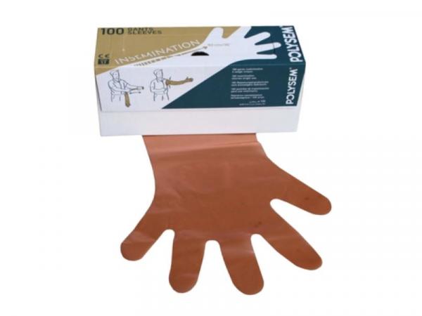 Handschoen Opvoel Vetorange Polysem 100 stuks
