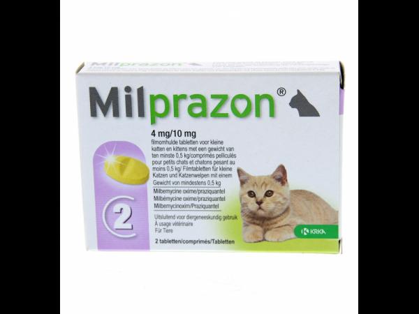 Milprazon Ontwormingstablet Kitten en Kleine kat