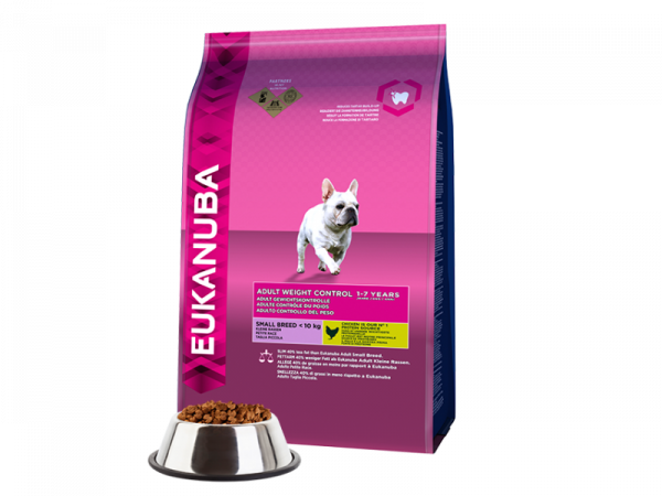 Eukanuba Dog Adult Small Breed Weight Control 3 kg