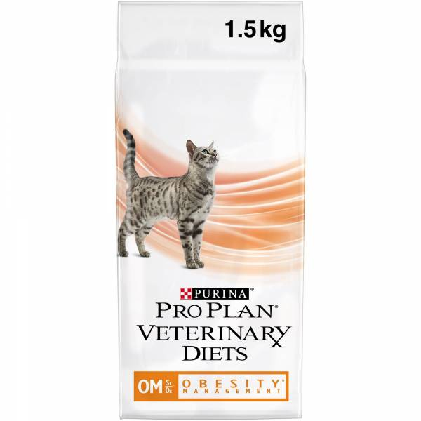 Purina Pro Plan Veterinary Diets Feline OM Obesity Management Kattenvoer