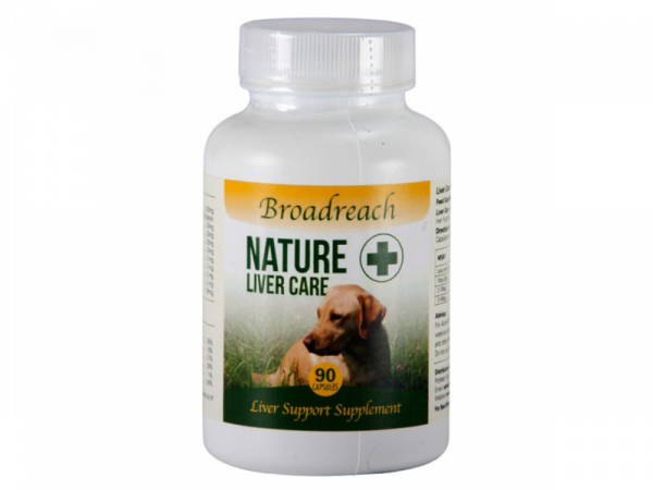 Broadreach Nature+ Liver Care Lever Hond Kat 90 capsules
