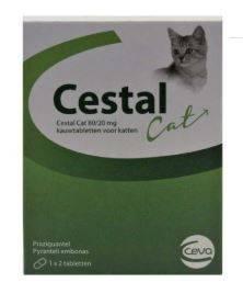 Cestal Kat 2 Smakelijke Wormtabletten