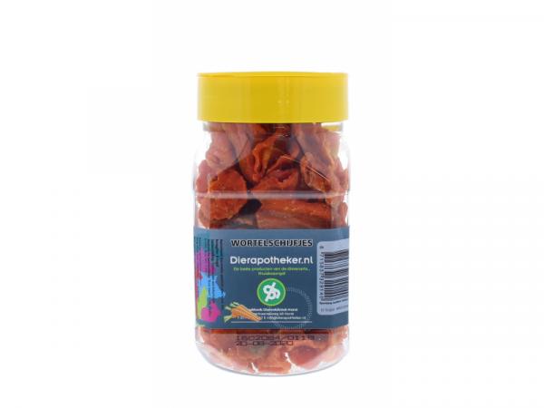 Wortelschijfjes Snack Dierapotheker.nl 150 gram