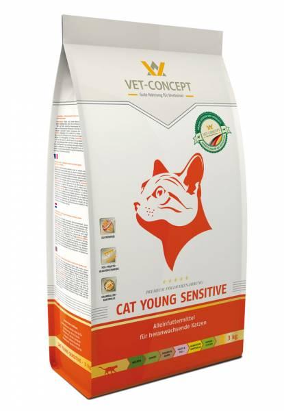 Vet-concept Cat Young Sensitive 10 kg