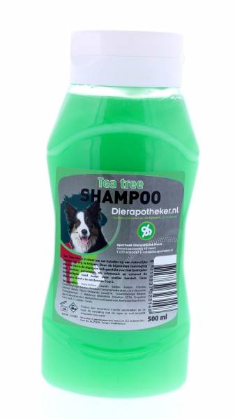 Shampoo Tea Tree Hond Dierapotheker.nl 500 ml